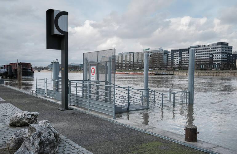 La Seine, dimanche 7 février 2021